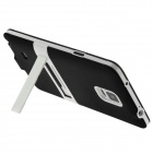 ENKAY Protective TPU Back Case Stand for Samsung Galaxy Note 4 N9100 - Black