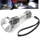 Pange K6 Aviation Stainless Steel Cree XM-L T6 900lm 5-Mode White Flashlight - Silver (1 x 18650)