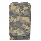 "Fashionable Waterproof Mobile Carrying Bag / Pouch for 5.5"" iPhone 6 Plus + More - Desert Camouflage"