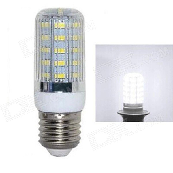 E27 5W 400lm 5730 SMD LED Cold White Light Corn Bulb (AC 220~240V)