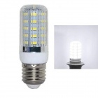 E27 5W 400LM 6000K 5730 SMD LED White Light Corn Bulb (AC 220~240V)