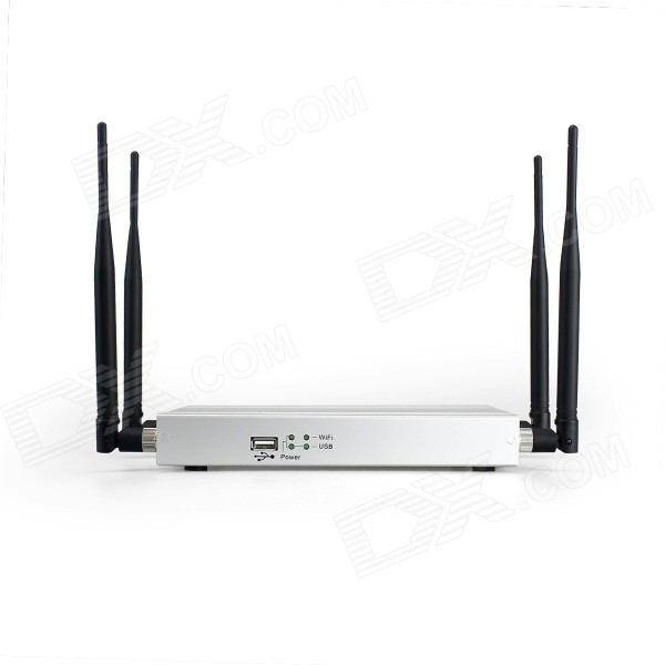LAFALINK LF-R2000 300Mbps Wireless-N Wi-Fi Router w/ 4-Antennas and Steel Casing
