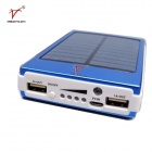 SP30000 15000mAh Li-polymer Battery Solar Power Bank w/ LED Indicator