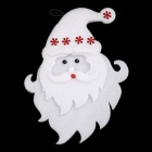 29 x 22.5cm Lovely Santa Claus Style Christmas Hanging Decoration - White + Red (Size M)