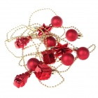 3mm Gift Balls String Christmas Decoration Pendant - Red