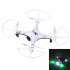 L6039 Mini 2.4GHz 4-CH 6-Axis R/C Quadcopter w/ Gyro / LED Light - White + Red
