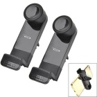 OUMILY 360 Degree Rotation Car Outlet Bracket for Phone - Black (2PCS)