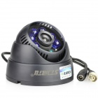 "Stjiatu ST-8600C waterdicht 1/4 ""CMOS 700TVL CCTV Surveillance Dome Camera w / 6-IR-LED - Zwart (PAL)"