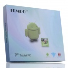 "TEMPOET MS711 7"" Android 4.2 MT8312 Dual Core Tablet PC med 4GB ROM, 2G / WiFi / BT / GPS - hvit"