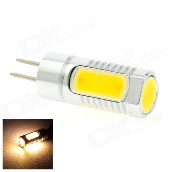 HONSCO GY6.35 GY5.3 4W 300lm 3000K COB LED Warm White Light High Power Bulb (DC 12~24V)