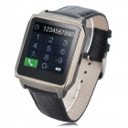 W3 MTK6250A ARM Cortex-A7 Waterproof Smart Bluetooth V3.0 Touch Wrist Watch - Black + Silver