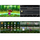"SOSOON X18Quad-Core 7 ""Android 4.4 Tablet PC w / 512MB RAM / 8GB ROM / WiFi OTG-zwart + White"