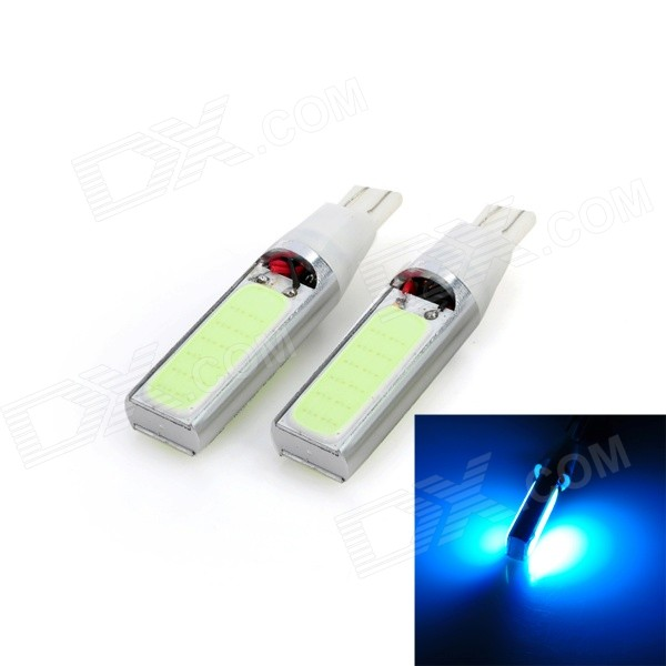 Marsing T10 10W 7500K 4-COB LED Ice Blue Light Width Lamp for Car (12V / 2 PCS)