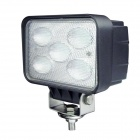 LML-1150  50W 4000LM 6000K 5-LED White Light Lamp - Black + Silver