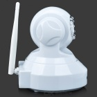 "VStarcam C7837WIP 1/4"" CMOS 1.0MP PNP Wireless IP Camera w/ 10-IR-LED / Wi-Fi / TF - White (US Plugs)"