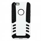 "Rocket Pattern Detachable Protective TPU Back Case for IPHONE 6 4.7"" - White + Black"