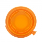 Acecamp 1538 Outdoor Portable Silicone Folding Collapsible Cup w/ Handle - Orange