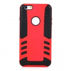 2-in-1 Protective TPU Back Case Cover for IPHONE 6 PLUS - Red + Black
