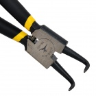 SB-125 High Carbon Steel Bend Tip Circlip Pliers - Black