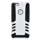 2-in-1 Protective TPU Back Case Cover for IPHONE 6 PLUS - White + Black