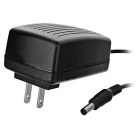 JRLED 24W 12V 2A AC / DC Power Adapter for LED Light Strip - Black (US Plug / 100~240V)