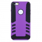 2-in-1 Protective TPU Back Case Cover for IPHONE 6 PLUS - Purple + Black