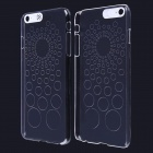 Circle Pattern LED Flash Light Protective ABS Back Cover Case for IPHONE 6 PLUS - Transparent