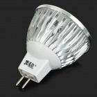 JRLED MR16 3W 270lm 3-LED luzes de luz branca fria (5 PCS / DC 12V)