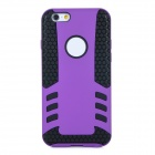 2-in-1 Protective TPU Back Case Cover for IPHONE 6 - Purple + Black