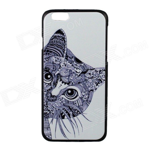 купить Cute Cat Pattern Protective PC Back Cover Case for IPHONE 6 4.7