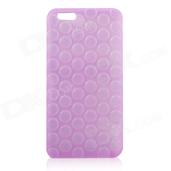 Creative Pop Bubble Design Protective Plastic Back Cases for IPHONE 6 PLUS 5.5 - Purple nillkin protective matte plastic back case w screen protector for iphone 6 4 7 golden
