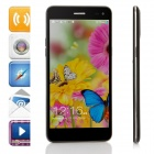 "Mpie T6S Quad-Core Android 4.4.2 WCDMA Bar Phone w/ 5.5"" HD, 2GB RAM, 4GB ROM, Wi-Fi, GPS - Black"