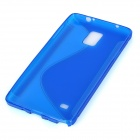 Protective TPU Back Case Cover for Samsung NOTE 4 / N910 / N910F / N910X - Deep Blue