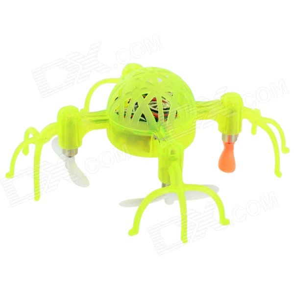 FEI YUE FY319 2.4GHz 4-CH 6-Axis R/C Quadcopter w/ Gyroscope / Lamp - Green (4 x AAA)
