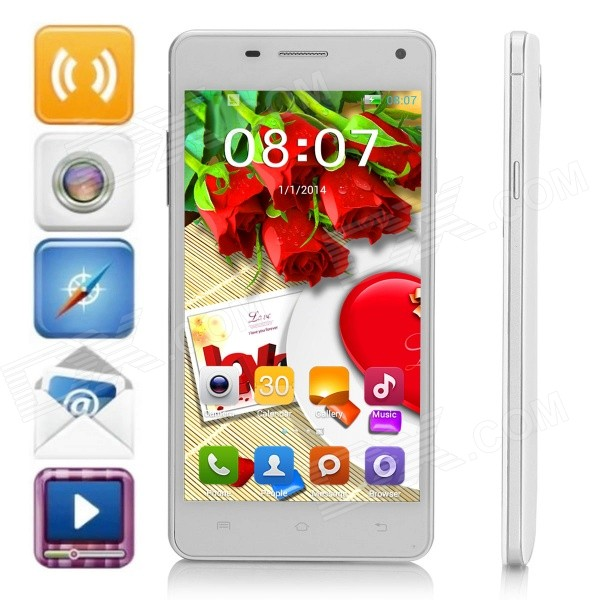 G9000 SC6825 Android 4.2.2 GSM Bar Phone w/ 5.0