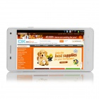 "G9000 SC6825 Android 4.2.2 GSM Bar Phone w/ 5.0"" Screen, Quad-band, 2GB ROM, FM, Wi-Fi - White"