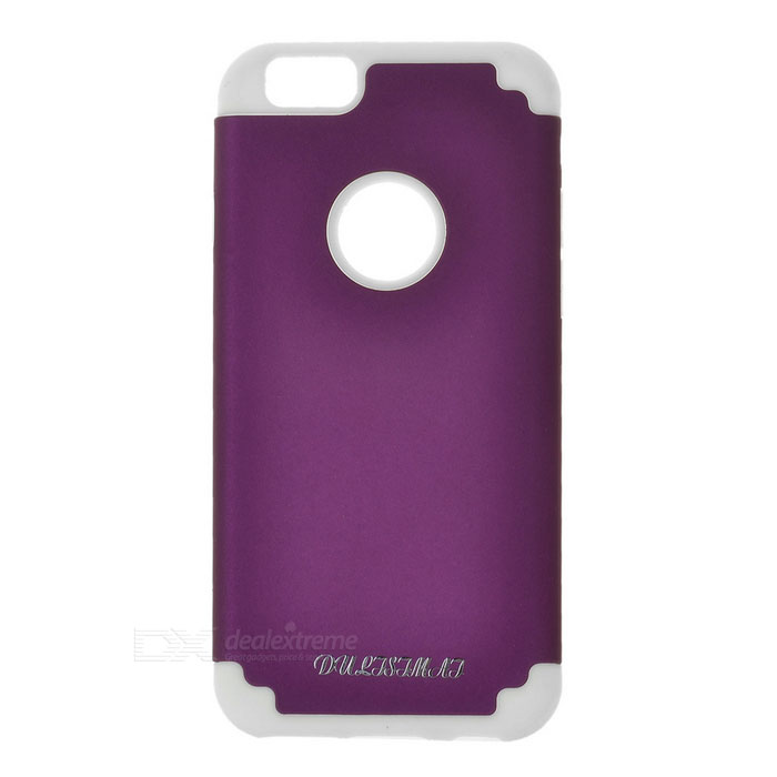 DULISIMAI Protective Plastic + PC Back Case Cover for IPHONE 6 - Purple
