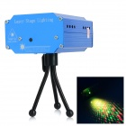 UltraFire YX-034 532mW Green + 660mW Red Laser Stage Lighting Projector w/ R/C - White + Cobalt Blue