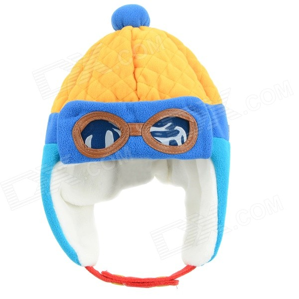 zea-mz0924-1-children-winter-wear-cute-warm-keeping-cap-hat-yellow-red