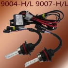 9007 55W 3200lm 6000K Car HID Xenon Lamps w/ Ballasts Kit (Pair)