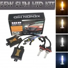 Richino H13 55W 3200lm 5000K White Car HID Xenon Lamps w/ Ballasts Kit (Pair)