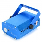 UltraFire YX-034-09 532mW Green + 660mW Red Laser Stage Lighting Projector w/ R/C - White + Blue