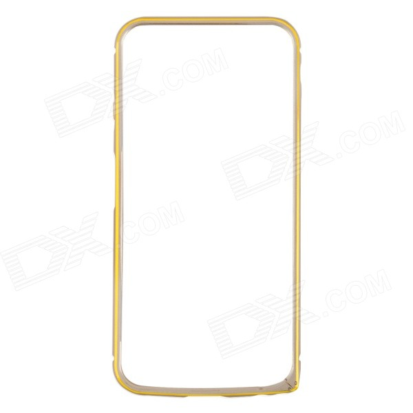 Ultra-Slim Aluminum Alloy Bumper Frame Case for IPHONE 6 4.7 - Champagne Gold nillkin gothic series ultra slim aluminum alloy bumper frame case for iphone 6 silver