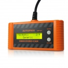 OM121 OBDII / EOBO Code Scanner - Orange + Black