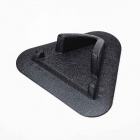 Silicone Non-Slip Stand Pad for Cellphone GSP / PSP / IPAD - Black