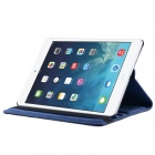 Enkay 360 Degree Rotation capa protetora w / Stand + Auto sono para IPAD AIR 2 - Deep Blue