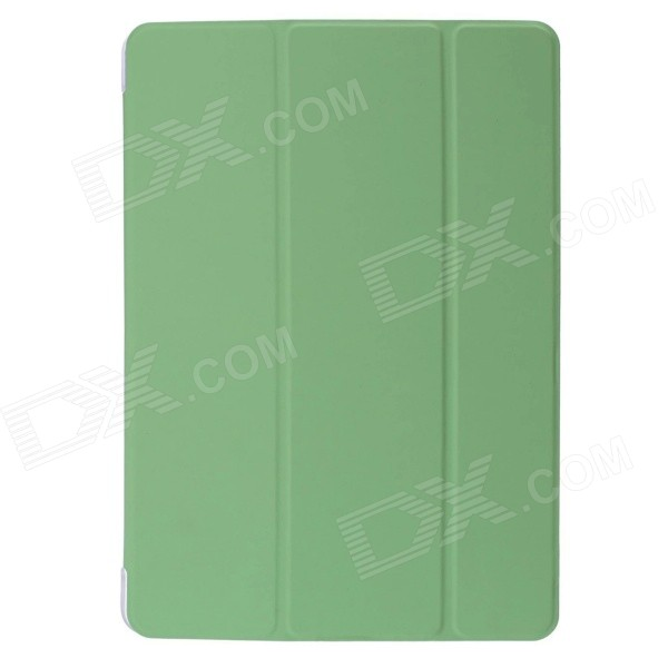 Mr.northjoe Protective PU Leather Case Cover Stand w/ Auto Sleep for IPAD AIR 2 - Green lichee pattern protective pu leather case cover stand w auto sleep for ipad air 2 green