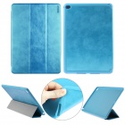 ENKAY Auto Sleep & Wake-up Designed Protective Case w/ 3-Folds Stand for IPAD AIR 2 - Blue