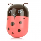 Cute Animal Shaped 2W 30lm 3000K Warm White Wall Night Lamp w/ Light Control - White + Red(220V)