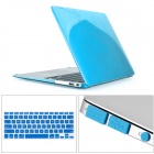 Mr.northjoe Ultra Slim Crystal Hard Case + Keyboard Cover + Anti-dust Plug Set for MACBOOK AIR 13.3""